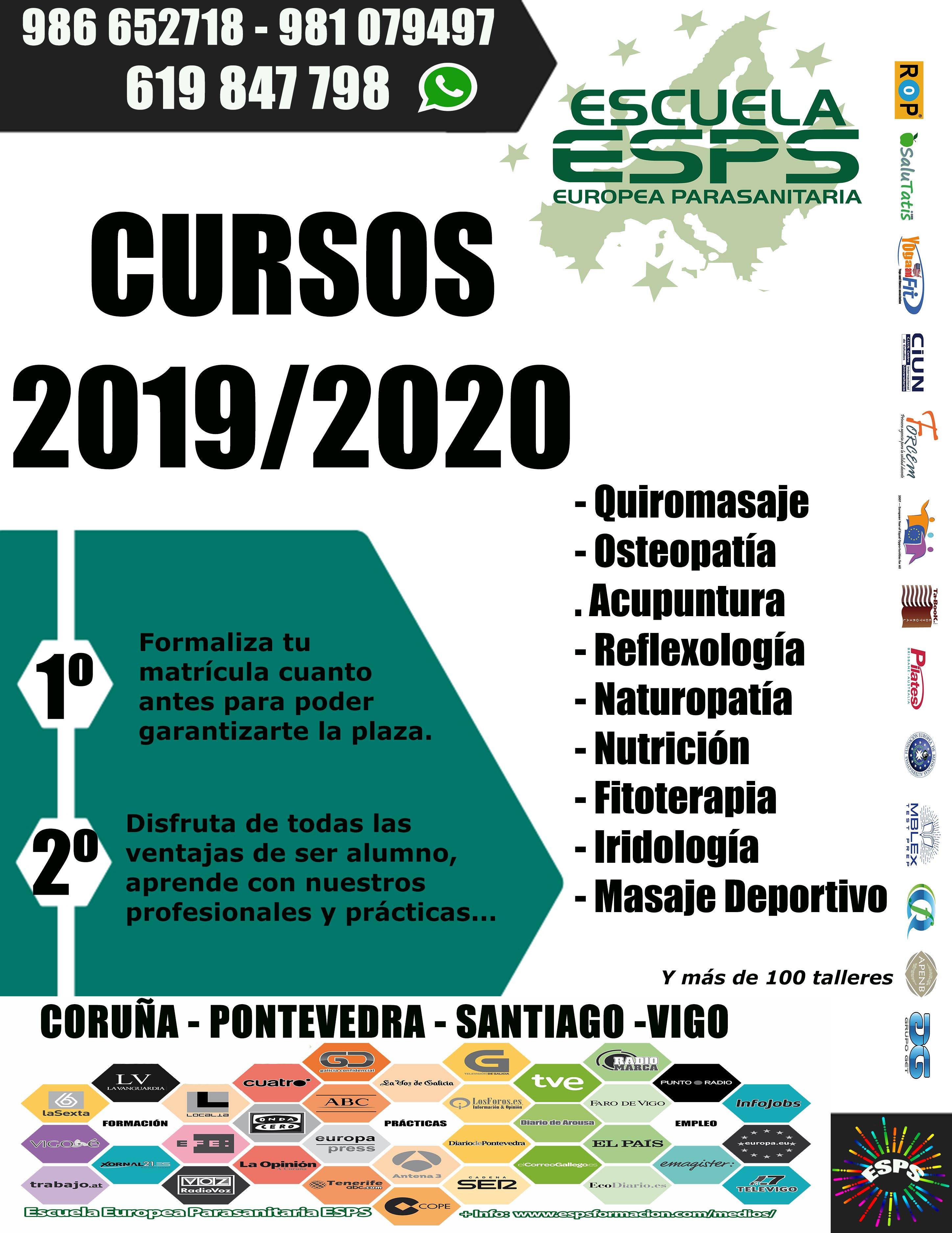 Cursos de ESPS 2019 - 2020