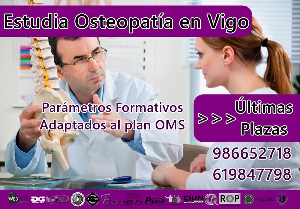 Curso de Osteopatía en Vigo